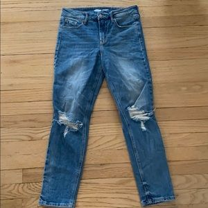 Old Navy Power Straight hi rise jean